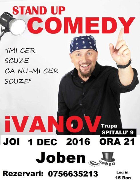 Ivanov stand up comedy
