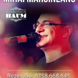 Mihai Margineanu canta la Bistro Baum Dumbraveni