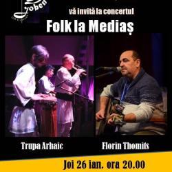 Castigatorul invitatiei la concertul Folk la Medias