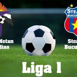 Gaz Metan Medias - Steaua Bucuresti