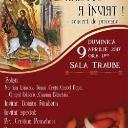 """Concert de folclor religios """"Hristos a inviat!"""""""