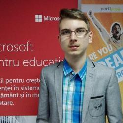 Mediesean in finala nationala a concursului mondial Microsoft Office Specialist 2017
