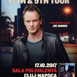 Sting concerteaza la Cluj Napoca