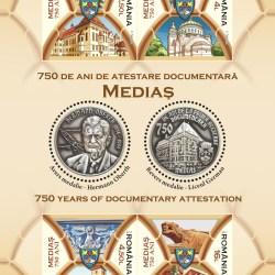 Emisiunea aniversara Medias 750 :  Album filatelic