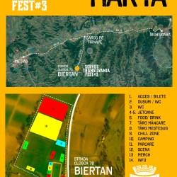 Harta Servus Transilvania Fest 2017