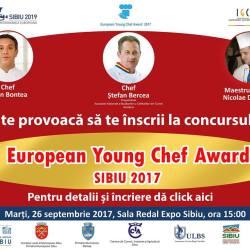 Faza locala a concursului European Young Chef Award 2017