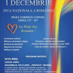 Mediasul sarbatoreste Ziua Nationala a Romaniei!