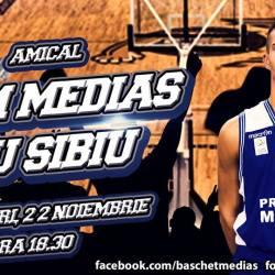 Meci amical : CSM Medias – CSU Sibiu