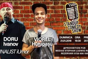 Stand-up Comedy la Prohibition Pub