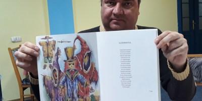 Un mediesean a ilustrat cartea tatalui Loredanei Groza