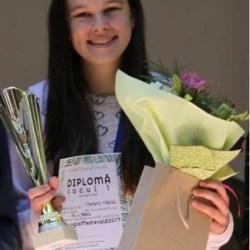 Maria Morariu, primul loc pe judet la olimpiadele judetene de matematica si informatica