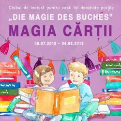 "Proiectul ""Die Magie des Buches - Magia cartii"""