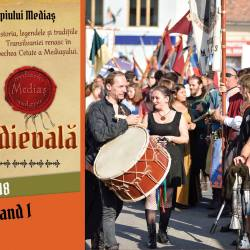 Festivalul Medias, Cetate medievala, editia 2018