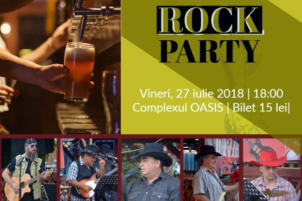 Summer Rock Party cu formatia Dinamic