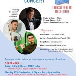 New Generation Concert la Casa Schuller