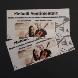 """Castiga o invitatie dubla la concertul """"Melodii Sentimentale"""""""