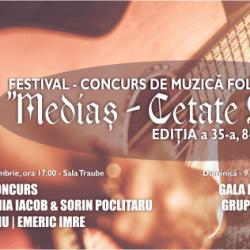 Mai ai timp sa te inscrii la Festivalul Medias Cetate Seculara
