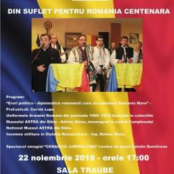 IPA Sibiu: Din suflet pentru Romania Centenara