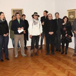 Vernisajul expozitiei : Medias 100 - Perceptii vizuale in arta contemporana (video)