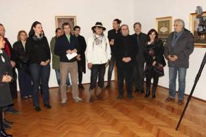 Vernisajul expozitiei : Medias 100 – Perceptii vizuale in arta contemporana (video)