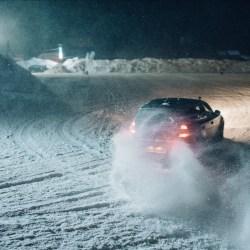 Arena Platos: Record de audienta la concursul de drifturi pe zapada