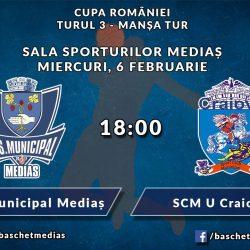 Cupa Romaniei: CSM Medias  - SCM U Craiova