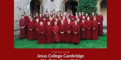The Choir of Jesus College concerteaza la Medias