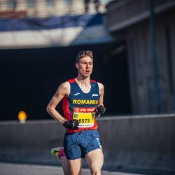 Peter Herman, argint la Campionatele Balcanice de Semimaraton