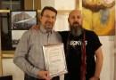 Diploma de excelenta pentru profesorul Johann Stirner