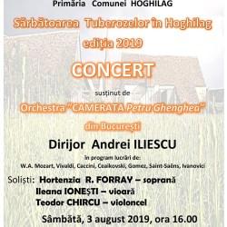Concerte si lansare de carte la Sarbatoarea Tuberozelor