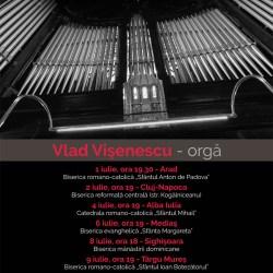 "Turneul national ""Orgile Romaniei"" ajunge sambata la Medias"