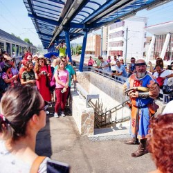 Transilvania Train a oprit ieri la Medias