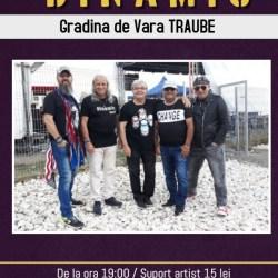 Concert Dinamic la Gradina de Vara Traube