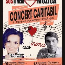 Patru concerte caritabile sustinute de Anca Boieru