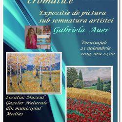 """Expozitia de pictura ,,Vibratii cromatice"""""""