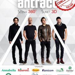 Premieră în România - concert ANTRACT cu sunet 3D