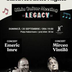 Mircea Vintilă și Emeric Imre – Sibiu Acoustic Nights