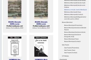 Biblioteca Virtuala – Autori medieseni