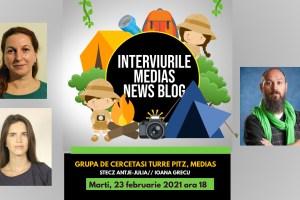 "Cercetaşii ""Turre Pitz"" la Interviurile Medias News Blog (video)"