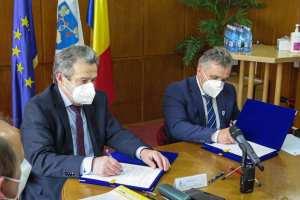 S-au semnat contractele de finanțare pentru două proiecte
