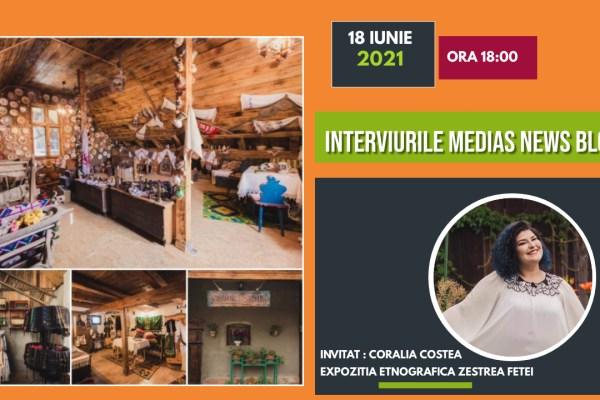 Coralia Costea la Interviurile Medias News Blog (video)