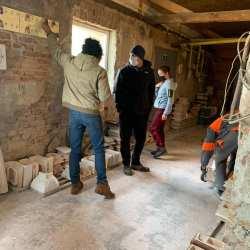 Foto: Tibi Uşeriu a vizitat azi Teracota Mediaş