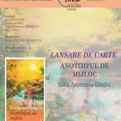 Lansare de carte Iulia Anamaria Ghidiu
