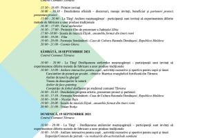 Programul detaliat al Festivalului Romilor din Târnava