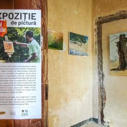 Pitoresc, pastoral și rural - expoziție de pictură pe traseul mocăniței