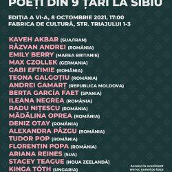 Z9Festival: Poeţi din 9 ţări la Sibiu