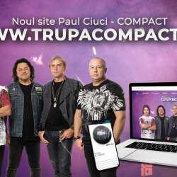 Formația Compact și-a lansat noua pagina de internet