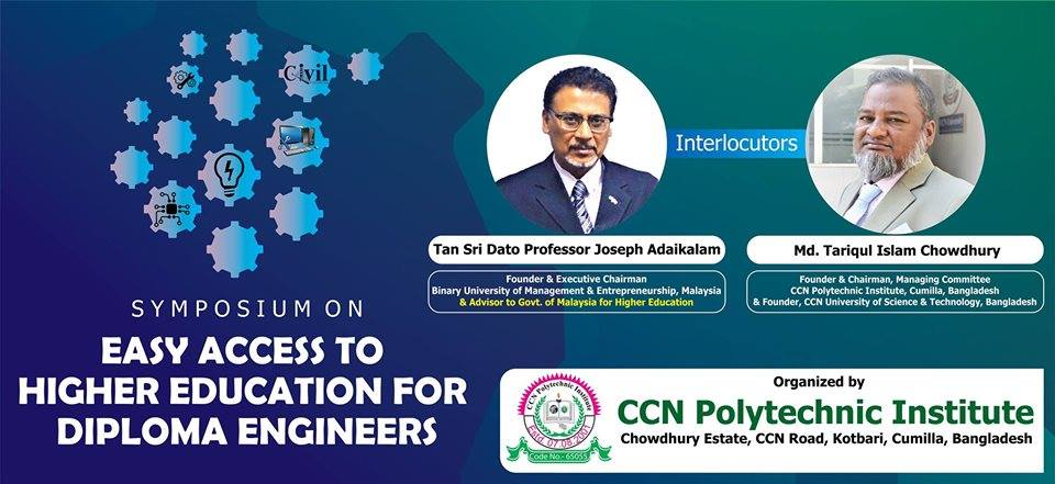 Symposium on Easy Access to Higher Education for Diploma Engineers- CCN