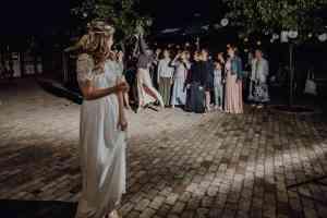 Brautstraußwurf Hochzeit Schlepzig