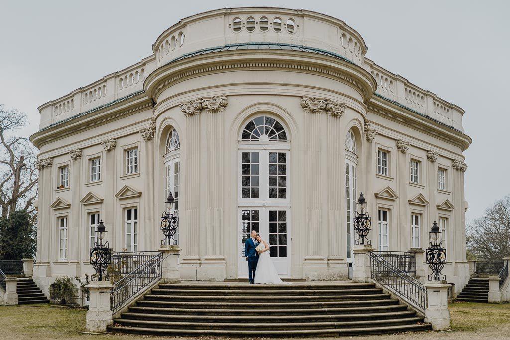 Treppe Schloss Richmond